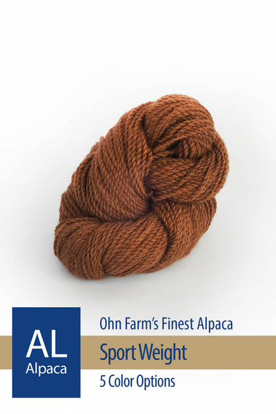 Ohm Farm Alpaca – 5 color options