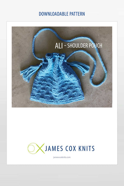 Ali Shoulder Pouch – Buy Echt Yarn Get the Pattern Free