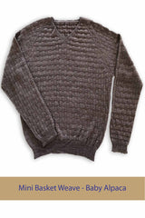 Baby Basket Weave Sweater