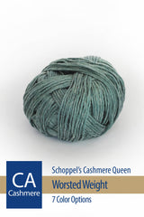 Cashmere Queen Yarn from Schoppel – 7 color options