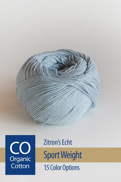 Echt Yarn from Zitron - 15 color options