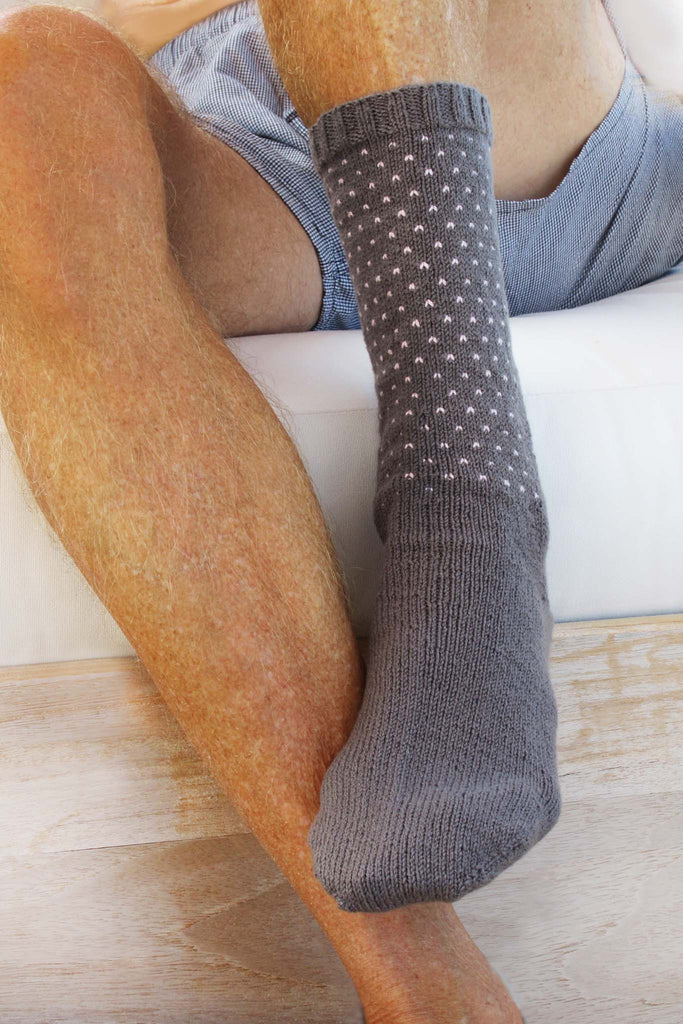 Elliott Polka Dot Socks