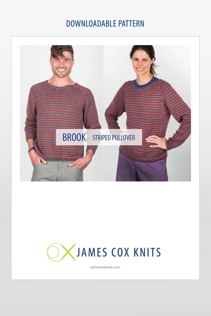 Brook Pullover PATTERN (Downloadable)