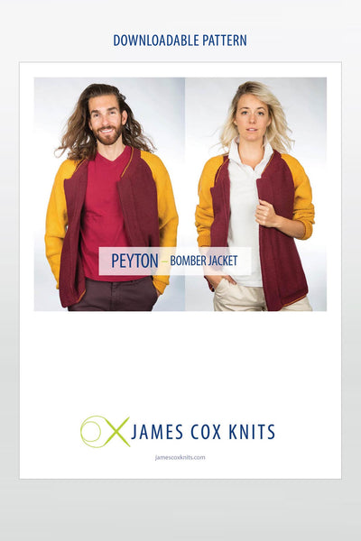 Peyton Bomber Jacket PATTERN (Downloadable)