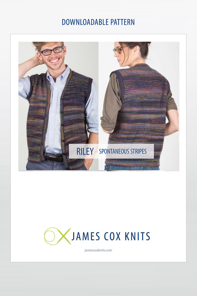 Riley Vest PATTERN (Downloadable)