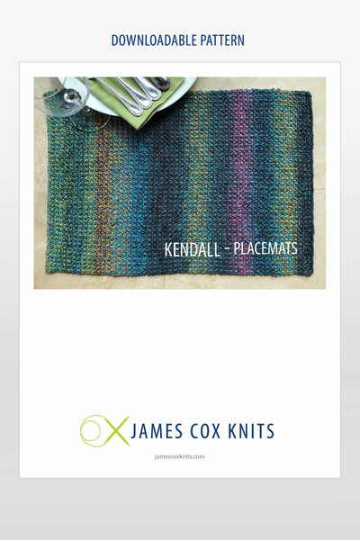 Kendall Placemats PATTERN (Downloadable)