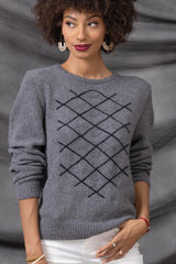 Buy Cashmere Classic Yarn for Rhombus Sweater