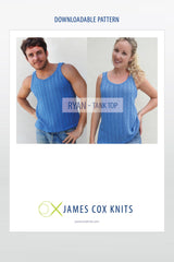 Ryan Tank Top – Buy Cotton Fine Yarn Get the Pattern Free