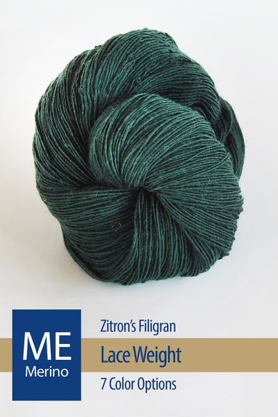 Filigran Yarn from Zitron – 6 color options