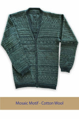 Mosaic Motif Sweater