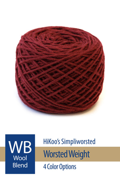 Simpliworsted Yarn from HiKoo