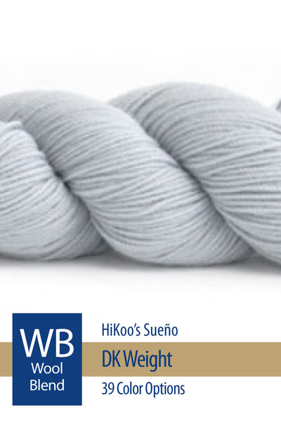 Sueño DK from HiKoo – 33 color options