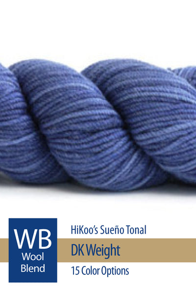 Sueño DK Tonal from HiKoo – 15 color options