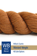 Sueño Worsted from HiKoo – 33 color options