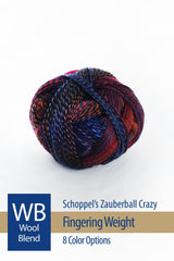 Zauberball Crazy from Schoppel – 8 color options