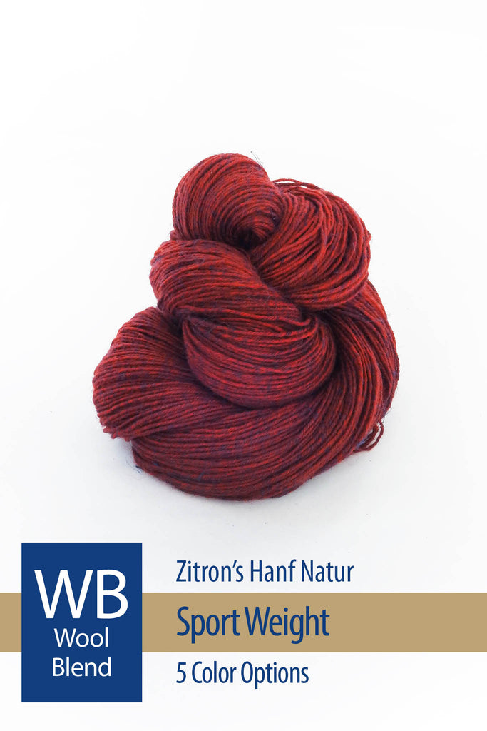 Hanf Natur from Zitron – 5 color options