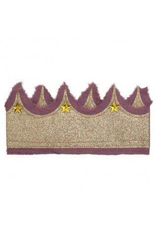 Glitter Crown - Pink/Gold
