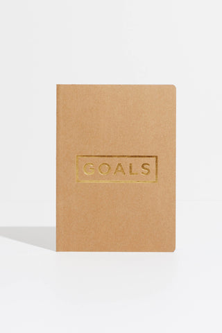 Goals Book (Kraft/Gold)