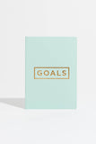 Goals Book (Mint Green/Gold)