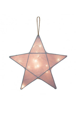 Star Lantern (Dusty Pink)