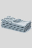100% Linen Napkin Set (Pale Blue)