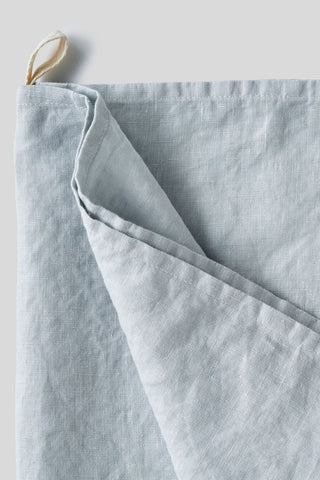 100% Linen Tea Towel (Pale Blue)