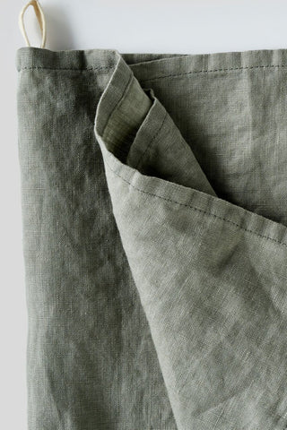 100% Linen Tea Towel (Stone)