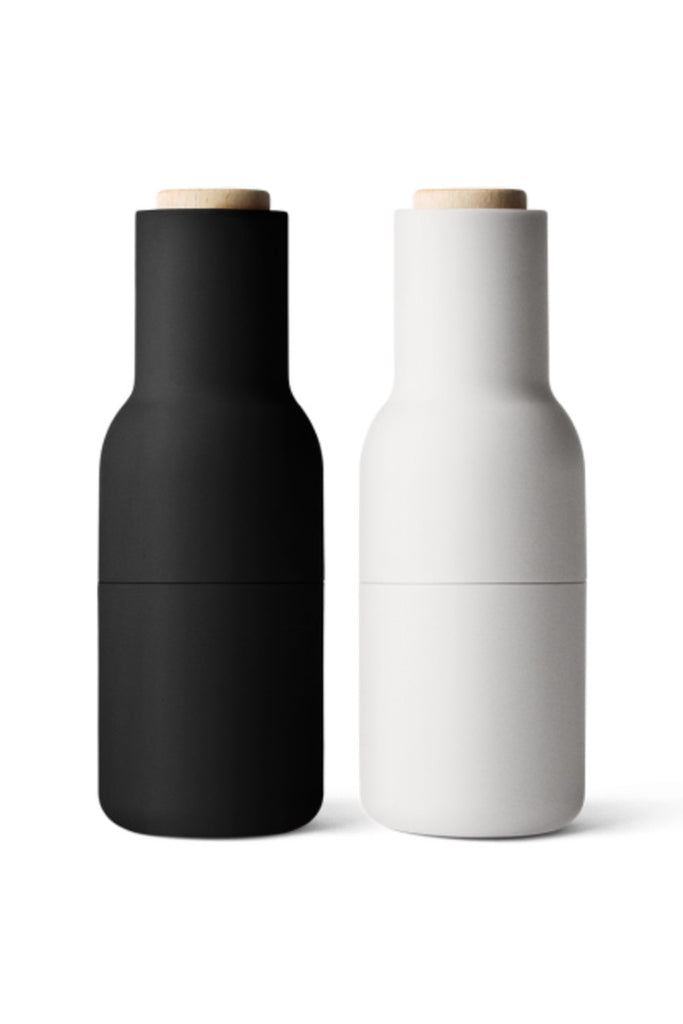 Bottle Grinders - Set of 2 (Ash/Carbon)
