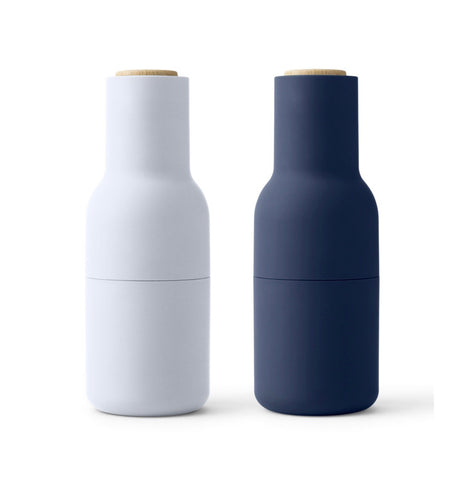 Bottle Grinders - Set of 2 (Blues)