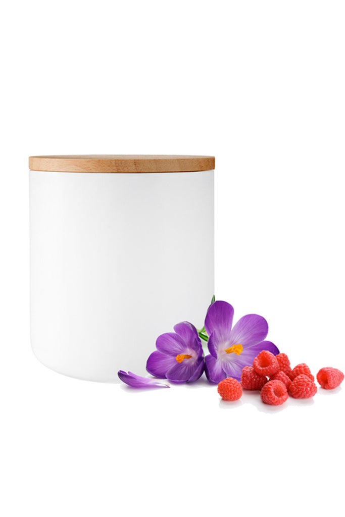 Raspberry & Violet Soy Candle