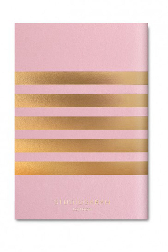 Pocket Stripe Notebook (Candy Pink)