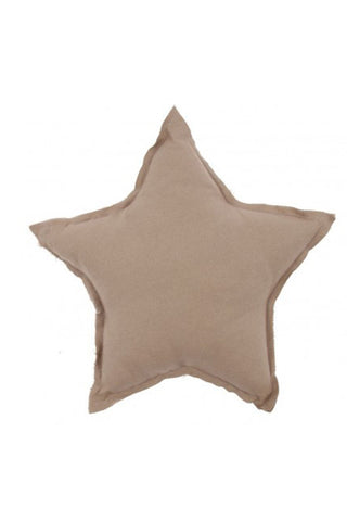 Star Cushion - Beige