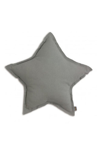 Star Cushion - Light Grey