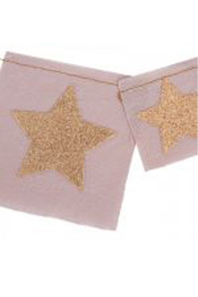 Star Garland - Pink/Gold