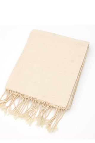 Organic Cotton Tunisian Towel (Creme)