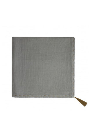 Nana Swaddle Wrap - SIlver Grey