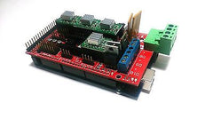 RAMPS 1.4 REPRAP 3D PRINTER CONTROLLER + Mega 2560 R3 +4 A4988 Drivers