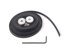 GT2 Belt Kit includes : 2 meters GT2, 2x 20Tooth/5mm bore Pulleys