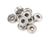 10pcs 608ZZ  Radial Ball Bearings