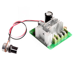 DC 6V-90V 15A DC Motor Speed Controller Stepless Speed Regulation Pulse Width PWM DC 12V 24V 36V 48V 1000W