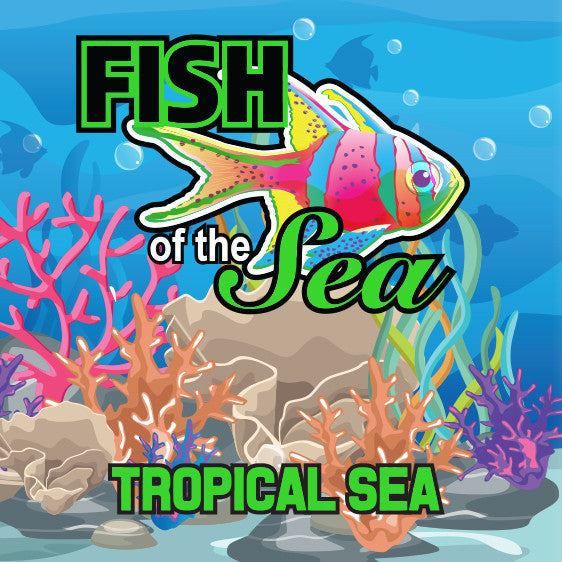 Fish of the Sea 60ml Vape Juice - Tropical Sea