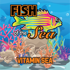 Fish of the Sea 60ml Vape Juice - Vitamin Sea