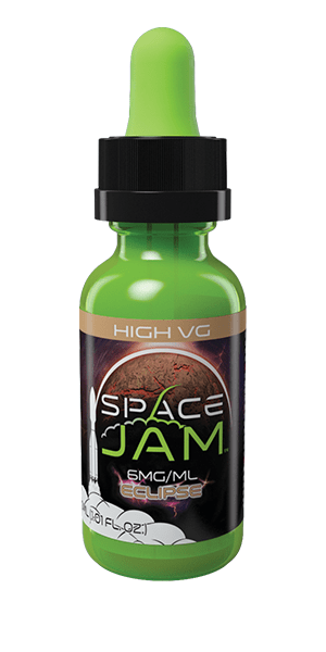 Space Jam Eclipse Green Bottle (High VG)