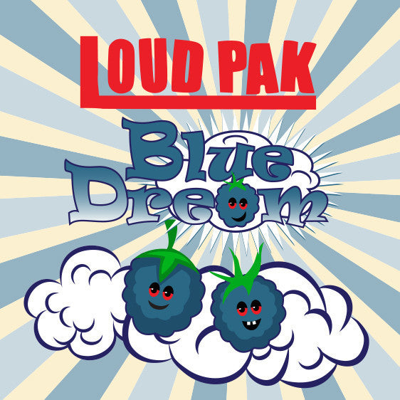 Loud Pak 60ml Vape Juice - Blue Dream
