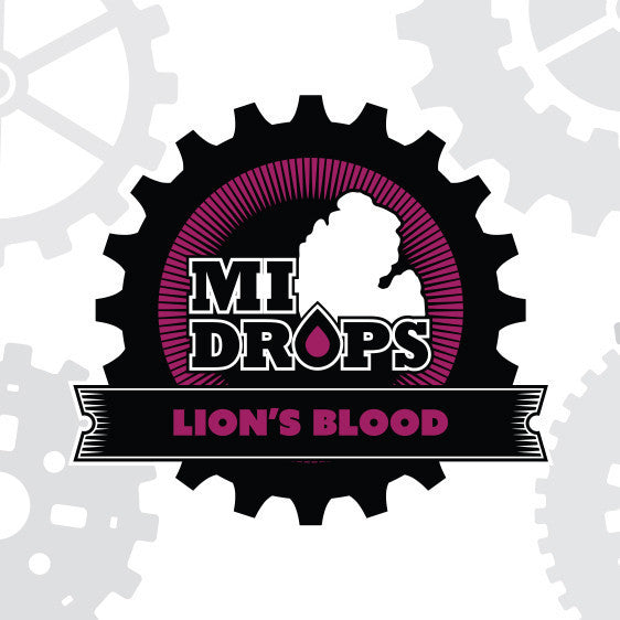 MI Drops 120ml Vape Juice - Lion's Blood