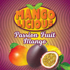 Mangolicious 60ml Vape Juice - Passion Fruit Mango