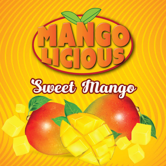 Mangolicious 60ml Vape Juice - Sweet Mango