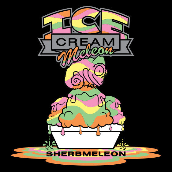 Ice Cream Meleon 60ml Vape Juice - Sherbmeleon