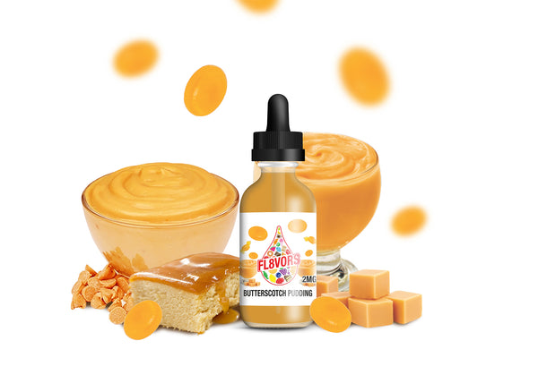 FL8VORS 60ml Vape Juice - Butterscotch Pudding