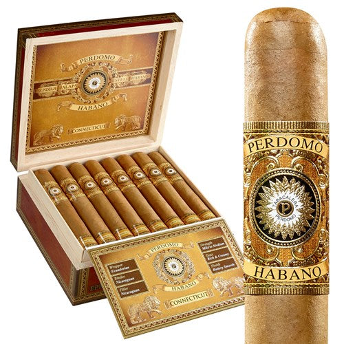 Perdomo Habano Bourbon Barrel-Aged Connecticut